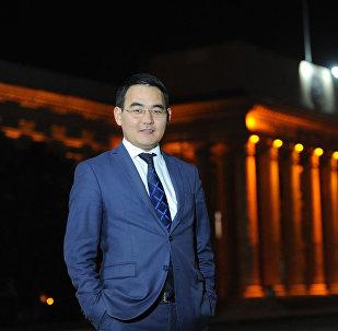 Заведующий отделом информационного обеспечения Аппарата правительства Кыргызстана Эсенгул уулу Чынгыз. Архивное фото