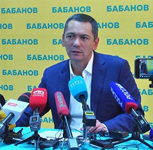 Обращение Омурбека Бабанова к сторонникам — видео