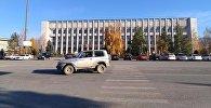 Центральная площадь в Таласе. Архивное фото