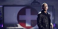 Американский рэпер, музыкальный продюсер и актер Эминем. Архивное фото