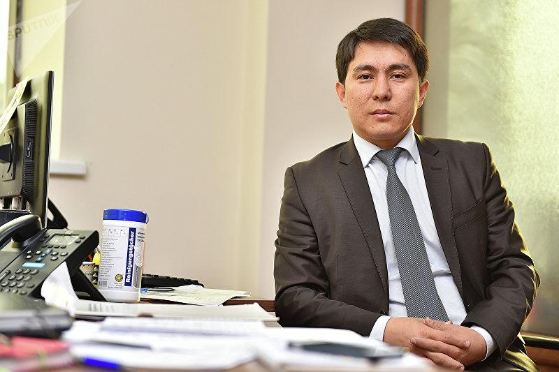 Директор агентства по продвижению инвестиций Алмаз Сазбаков