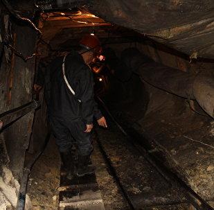 Угольная шахта в Сулюкте