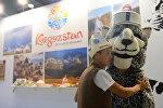 Стенд Кыргызстана на выставке. Архивное фото