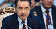 Архивное фото премьер-министра Казахстана Бакытжана Сагинтаева