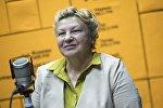 Президент ОО Ресурсный центр для пожилых, координатор международной геронтологической сети AgeNet International Светлана Баштовенко во время интервью на радио Sputnik Кыргызстан
