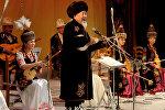 Кыргыз Эл артисти, комузчу Нурак Абдрахмановдун архивдик сүрөтү