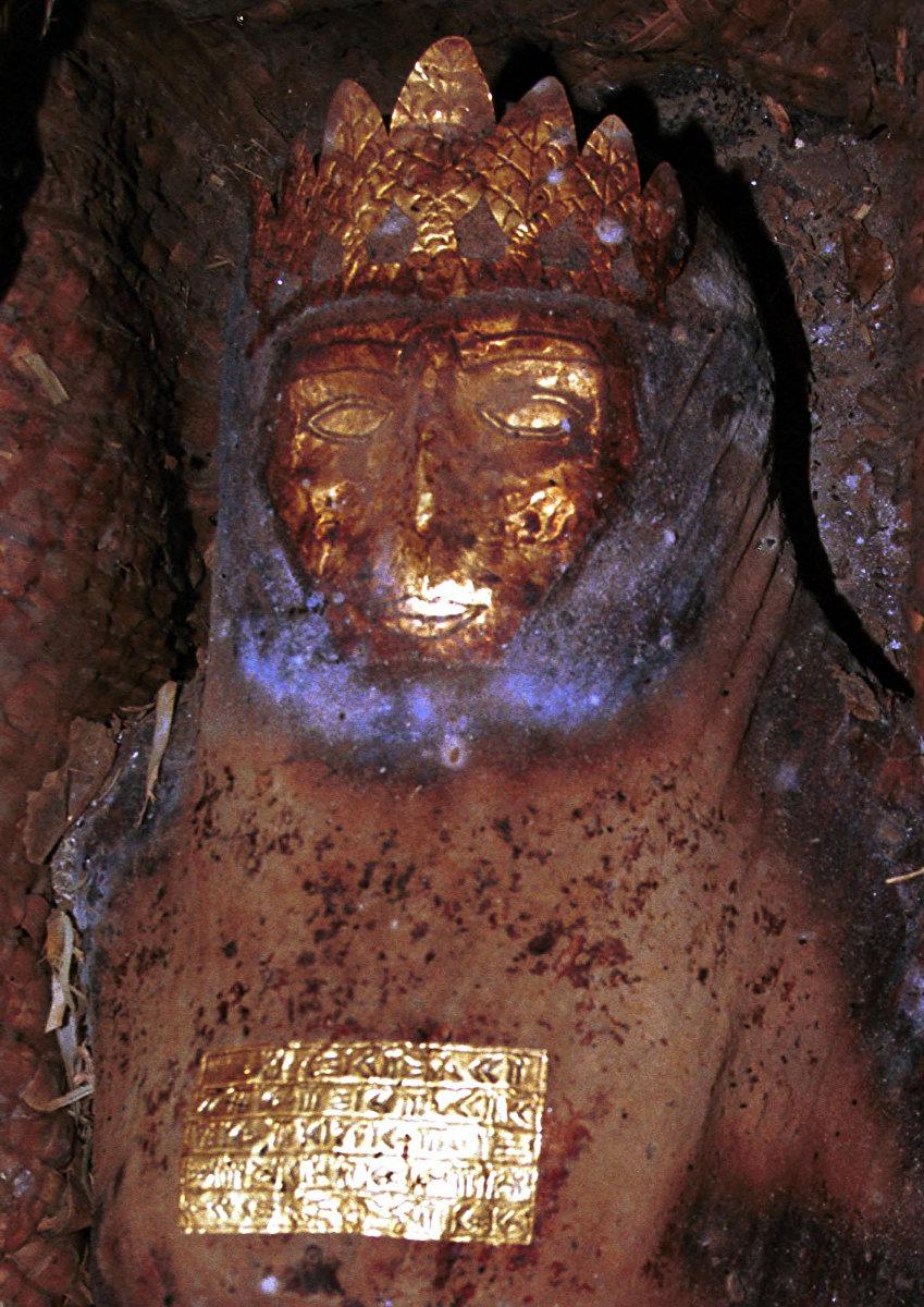 Мумия, названная Персидской принцессой, якобы найденная после землетрясения под городом Кветта (Пакистан)