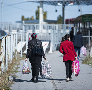 Кыргызстан менен Казакстандын чек арасындагы Ак-Тилектеги абал