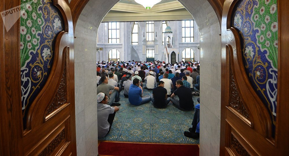 Мусулмандар. Архивдик сүрөт