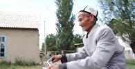 Баткен: токсонду таяган аксакал 60 жылдан бери бир шайтан араба тээп келет