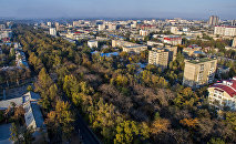 Бишкек, вид с дрона. Архивное фото