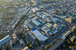 Вид на Ошский рынок в Бишкеке с высоты. Архивное фото