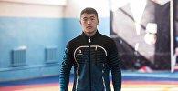 Чемпион Азии по греко-римской борьбе Акжол Махмудов. Архивное фото