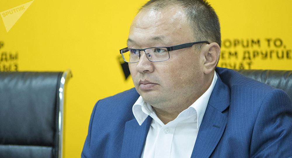Генеральный директор ОАО Электрические станции Узак Кыдырбаев. Архивное фото