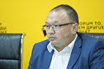 Электр станциялары ишканасынын башкы директору Узак Кыдырбаевдин архивдик сүрөтү