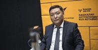 Бишкек шаарындагы Октябрь районун акими Ренат Айтымбетов