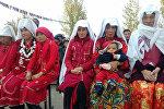 Кыргызстанга келген памирлик кыргыздар. Архив