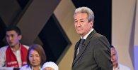 Бүтүн Кыргызстан партиясынын лидери Адахан Мадумаров. Архив