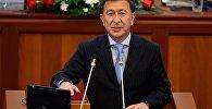 Архивное фото депутата ЖК 6 созыва Аскарбека Шадиева от фракции Бир Бол
