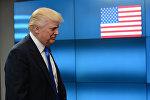 АКШнын президенти Дональд Трамптын архивдик сүрөтү