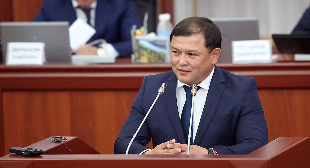 Архивное фото депутата Дастана Джумабекова