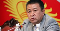 ЖК депутаты Чыныбай Турсунбековдун архивдик сүрөтү