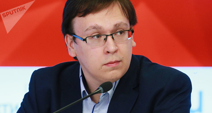 Эксперт, преподаватель Высшей школы экономики РФ (ВШЭ) Григорий Лукьянов. Архивное фото
