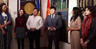 В Киеве 24 октября открылась выставка картин кыргызстанских художников Кочевница