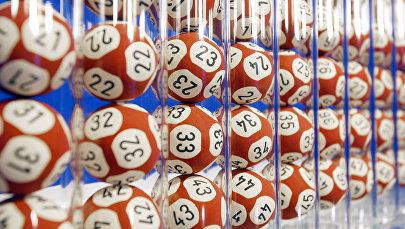 Шары для розыгрыша лотереи. Архивное фото