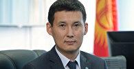Назначенный секретарем Совета безопасности КР Алмазбек Курманалиев