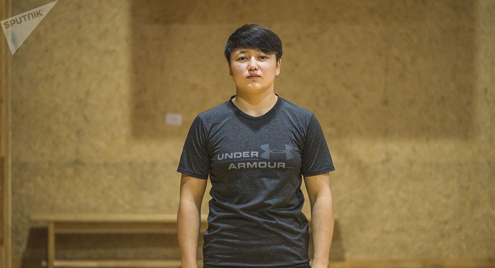 Кыз-келиндер арасындагы күрөш боюнча эл аралык класстагы спорт чебери Мээрим Жуманазарова