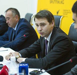 Пресс-конференция по ситуации в торгово-экономических отношениях Кыргызстана и Казахстана