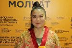 Эмоции кыргызстанки до выступления на шоу Ты супер! Танцы