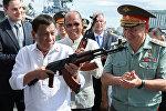 Филиппиндин президенти Родриго Дутерте (солдо). Архив