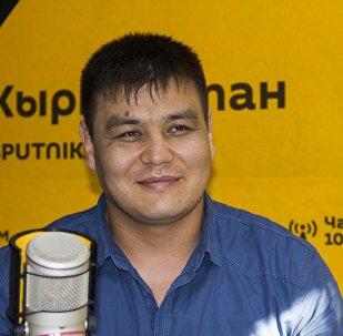Кыргызстанский боец ММА в тяжелом весе Тилек Жээнбеков