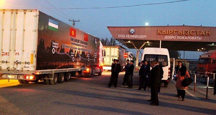 ВТашкенте стартовал грузовой автопробег потранспортному коридору КНР - Кыргызстан— Узбекистан