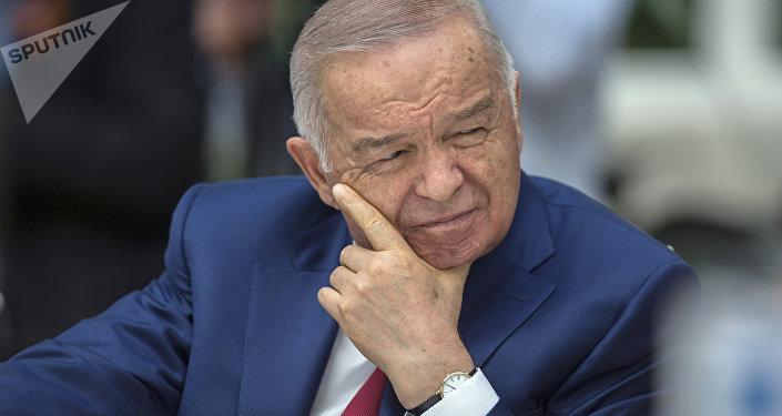 Архивное фото первого президента Республики Узбекистан Ислама Каримова