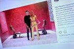 Снимок с социальной сети Instagram пользователя lola_tillyaeva