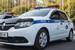 Автомобили патрульной милиции на автопараде ко Дню милиции в Бишкеке