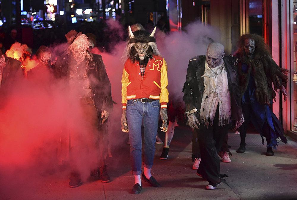 Празднование Хэллоуина в США
