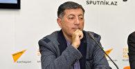 Руководитель Центра нефтяных исследований в Азербайджане Ильхам Шабан