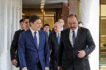Премьер-министр Кыргызстана Сапар Исаков встретился с главой правительства Узбекистана Абдуллой Ариповым в рамках рабочего визита в Ташкент