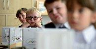 Учащиеся школы. Архивное фото