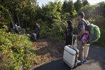 Канададагы мигранттар. Архивдик сүрөт