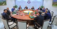Рабочий визит премьер-министра Кыргызстана Сапара Исакова в Ташкент