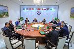 Заседание Совета глав правительств СНГ в узком составе в Ташкенте