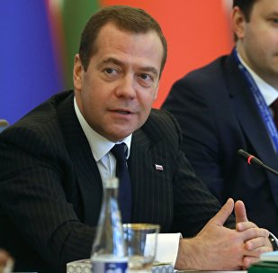 Россиянын премьер-министри Дмитрий Медведев КМШ мамлекеттеринин өлкө башчыларынын жыйынында
