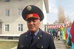 Зампредседатель Ошской областной милиции Санжар Ибраимов