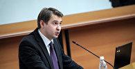 Исполняющий обязанности премьер-министра Артем Новиков. Архивное фото