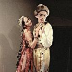 Ал эми бул 1958-жылкы сүрөттө Кыргызстандын биринчи балеринасы, артист Бүбүсара Бейшеналиева Кыргыз опера жана балет театры тарабынан коюлган Чолпон балетинде Айдайдын, балетмейстер Уран Сарбагышев Нурдиндин ролунда